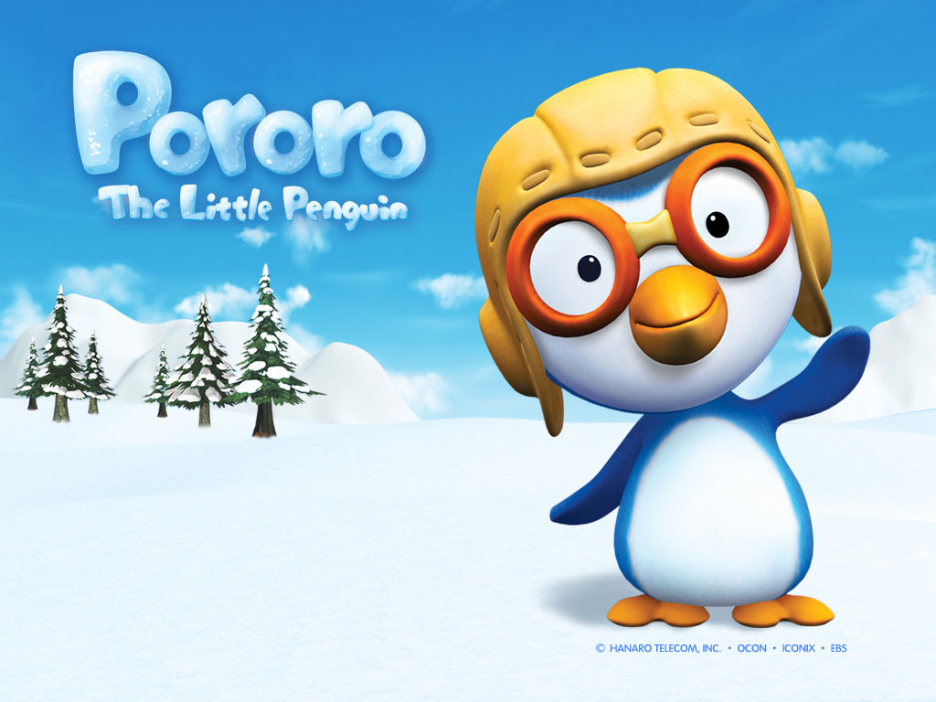 Pororo, The Little Penguin, created by Ocon