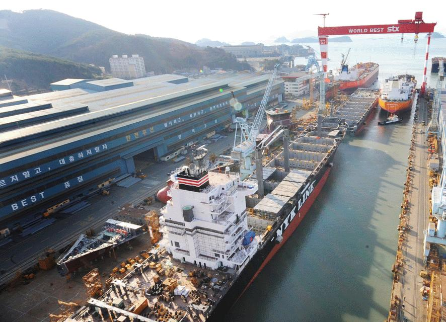 Korean shipyards are among the best in the world.