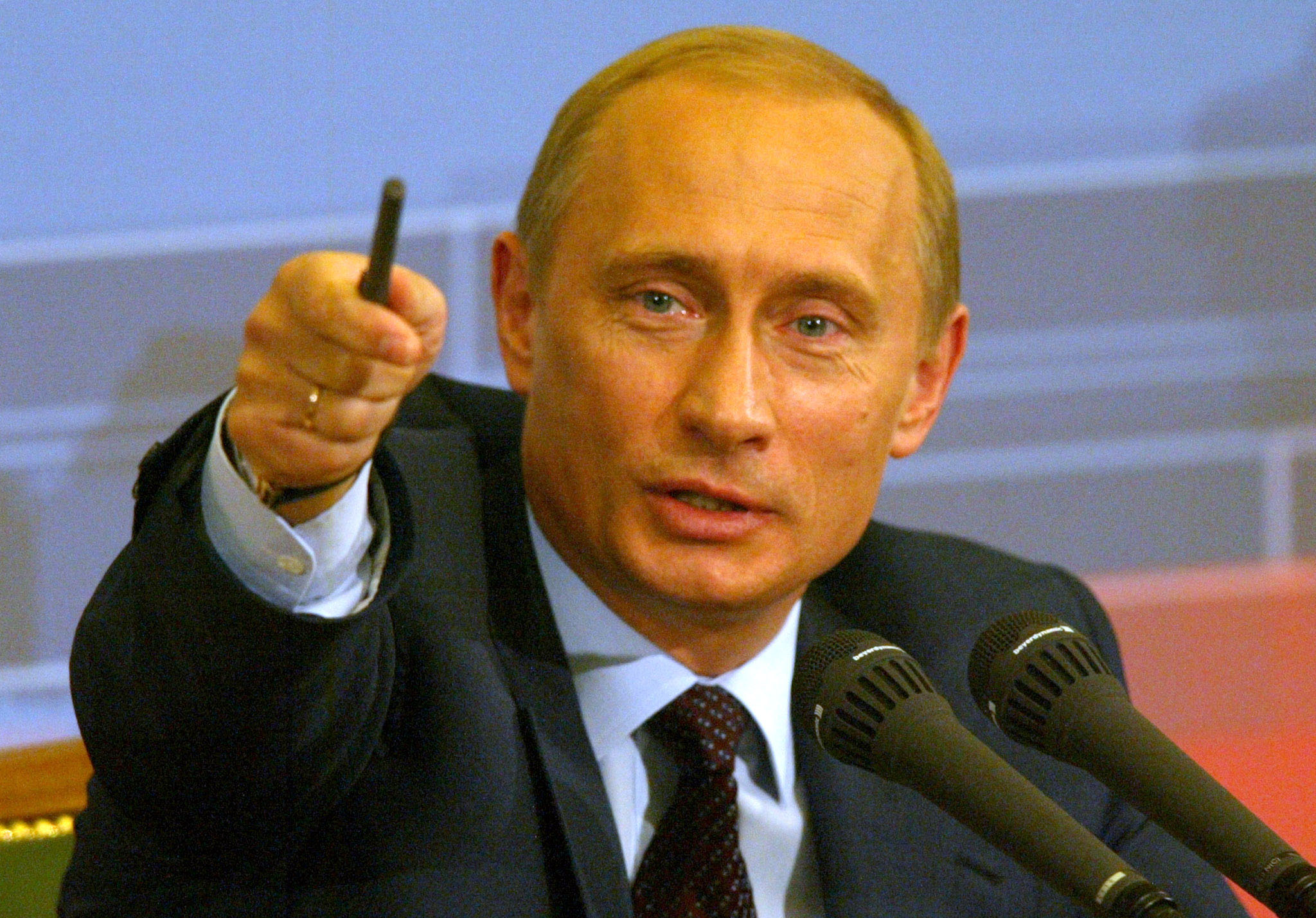 Vladimir Putin, president of the Russian Federation.