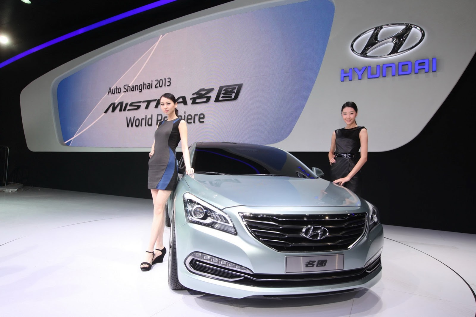 The Mistra, Hyundai Motor's sedan exclusively built for the Chinese market.