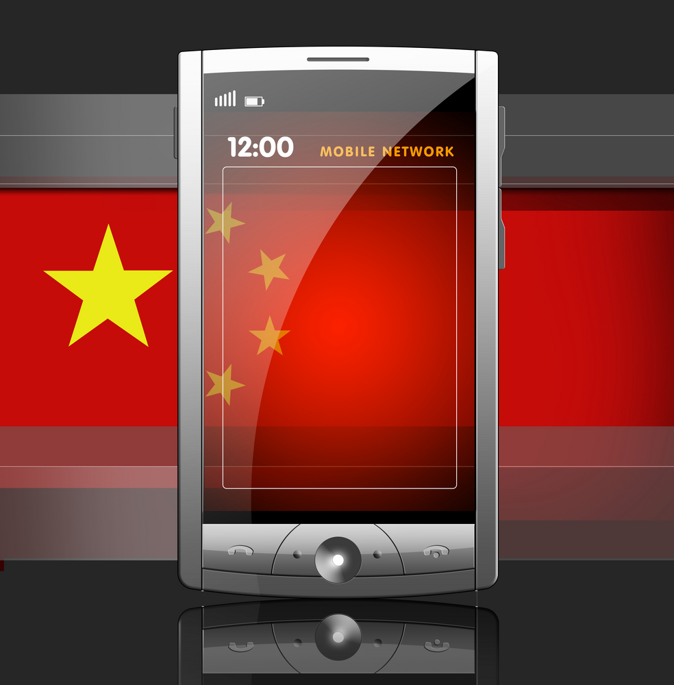 The Chinese smartphone market is the largest in the world.