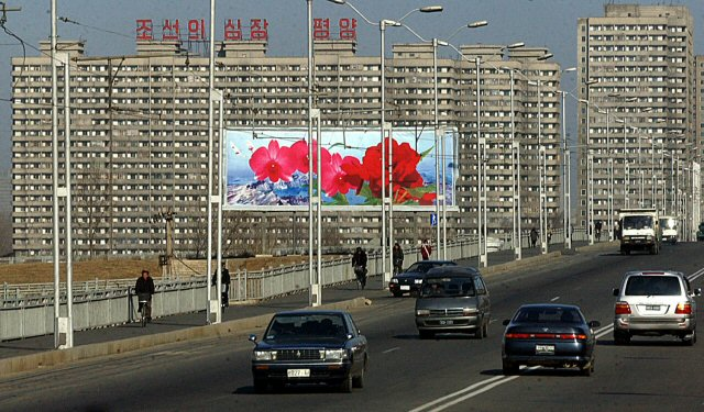 The upper class in Pyongyang drive their own cars and pay huge sums of money to eat out in fancy restaurants downtown.