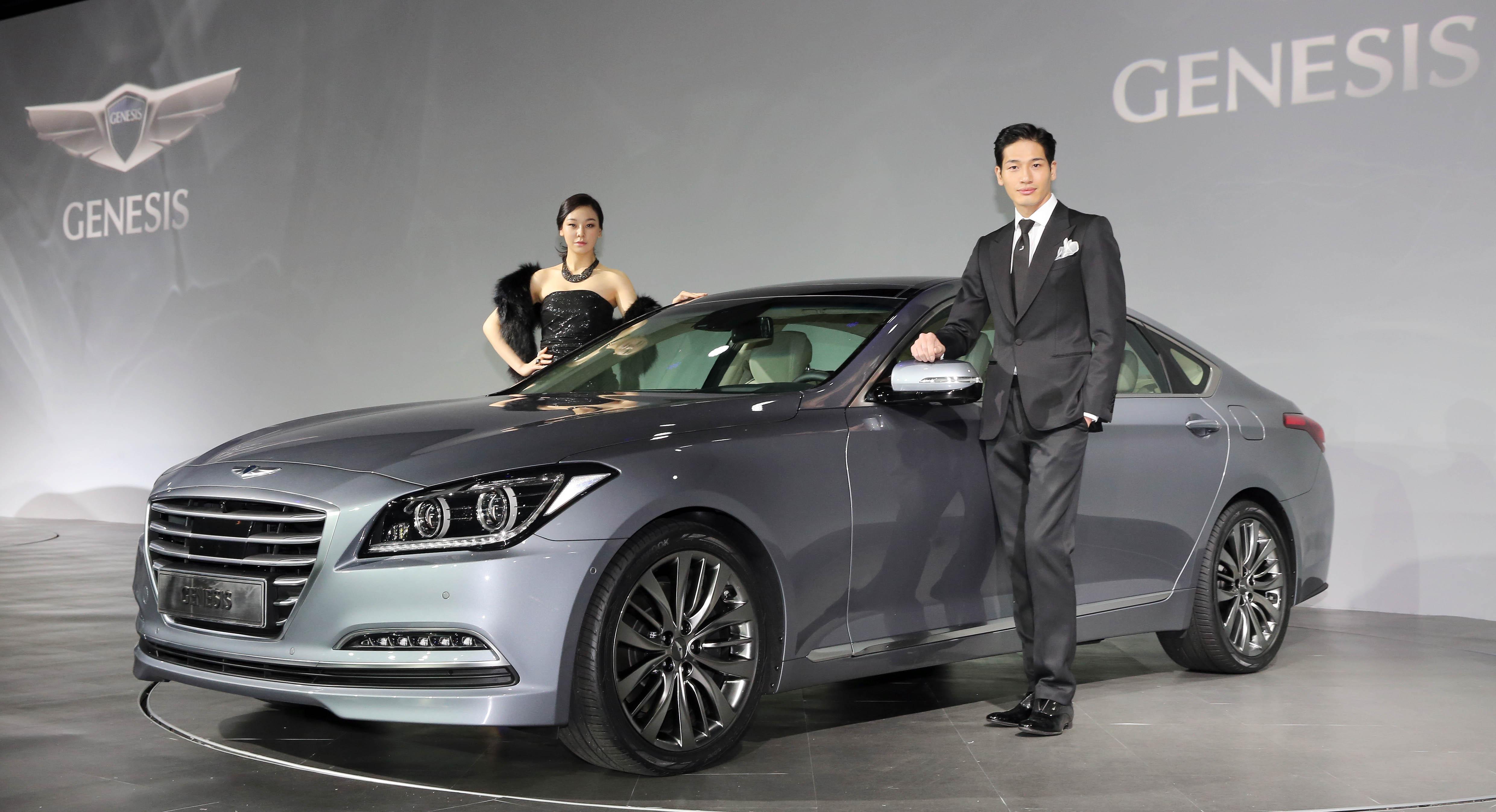 Hyundai Motor S New Genesis Aimed At European Car Market 비즈니스