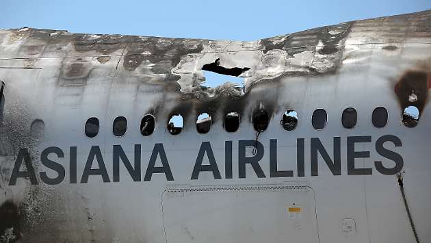 Asiana Airlines Flight 214 crashed on final approach to San Francisco International Airpot on July 6, 2013.