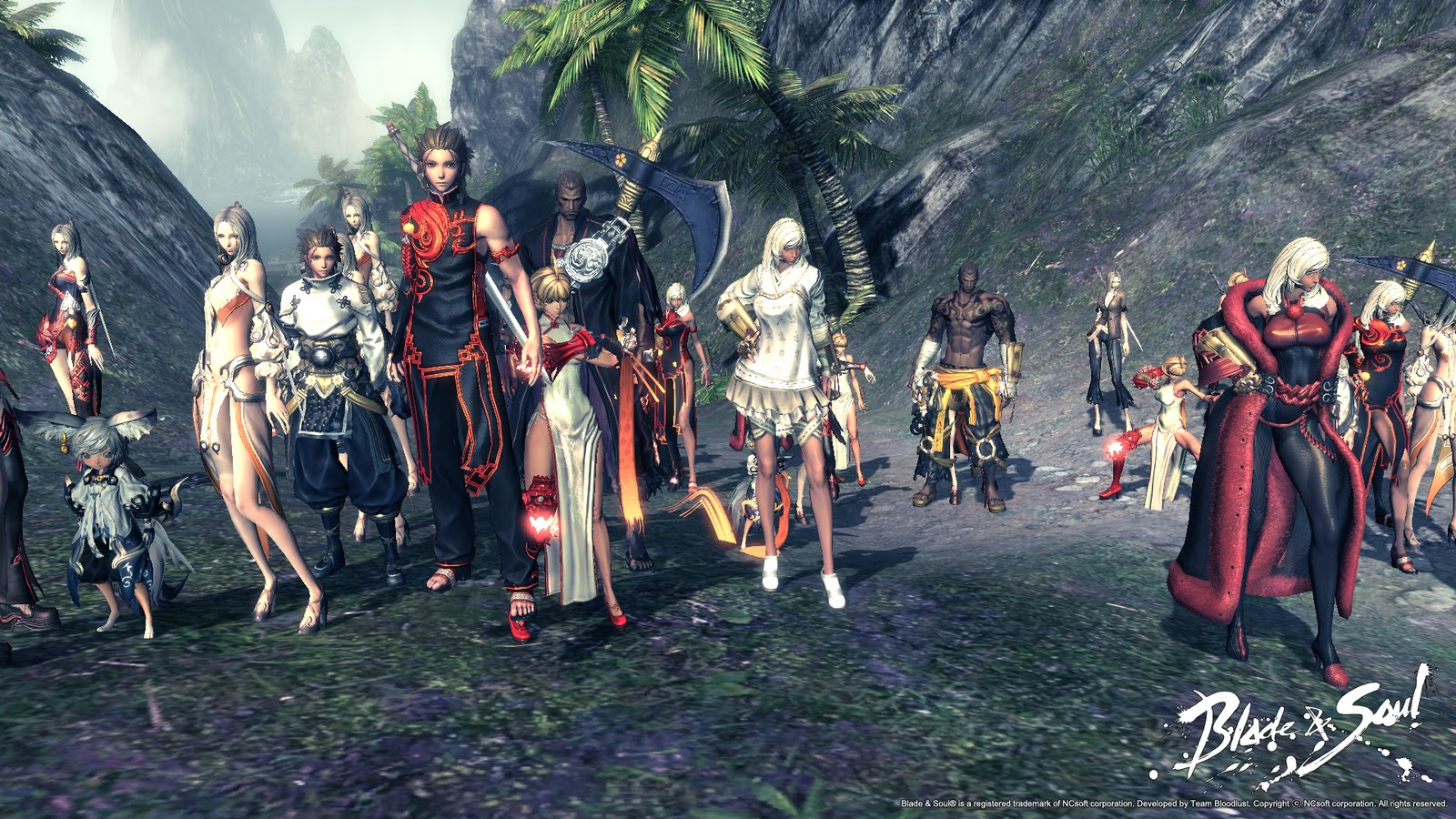 NCSoft made a contract with Tencent to distribute its popular game Blade & Soul in China on May 16, 2011.