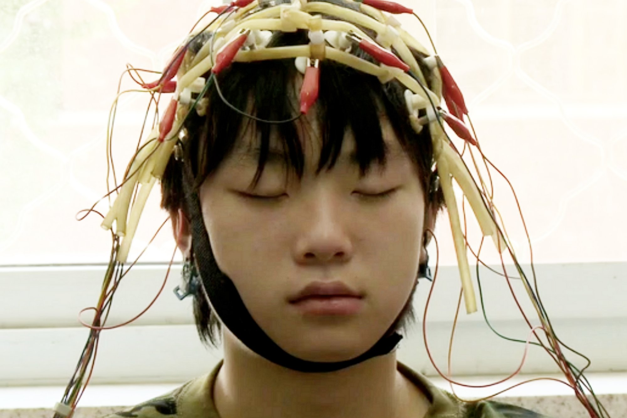A scene from the movie Web Junkie, shown at the 2014 Sundance Film Festival, which explores Internet addiction in China.