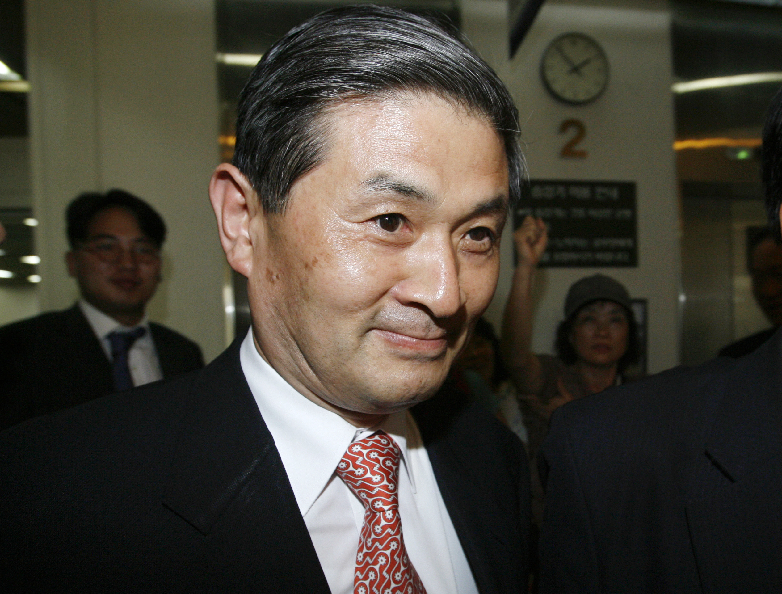 Hwang Woo-suk, disgraced former professor and researcher of Seoul National University.