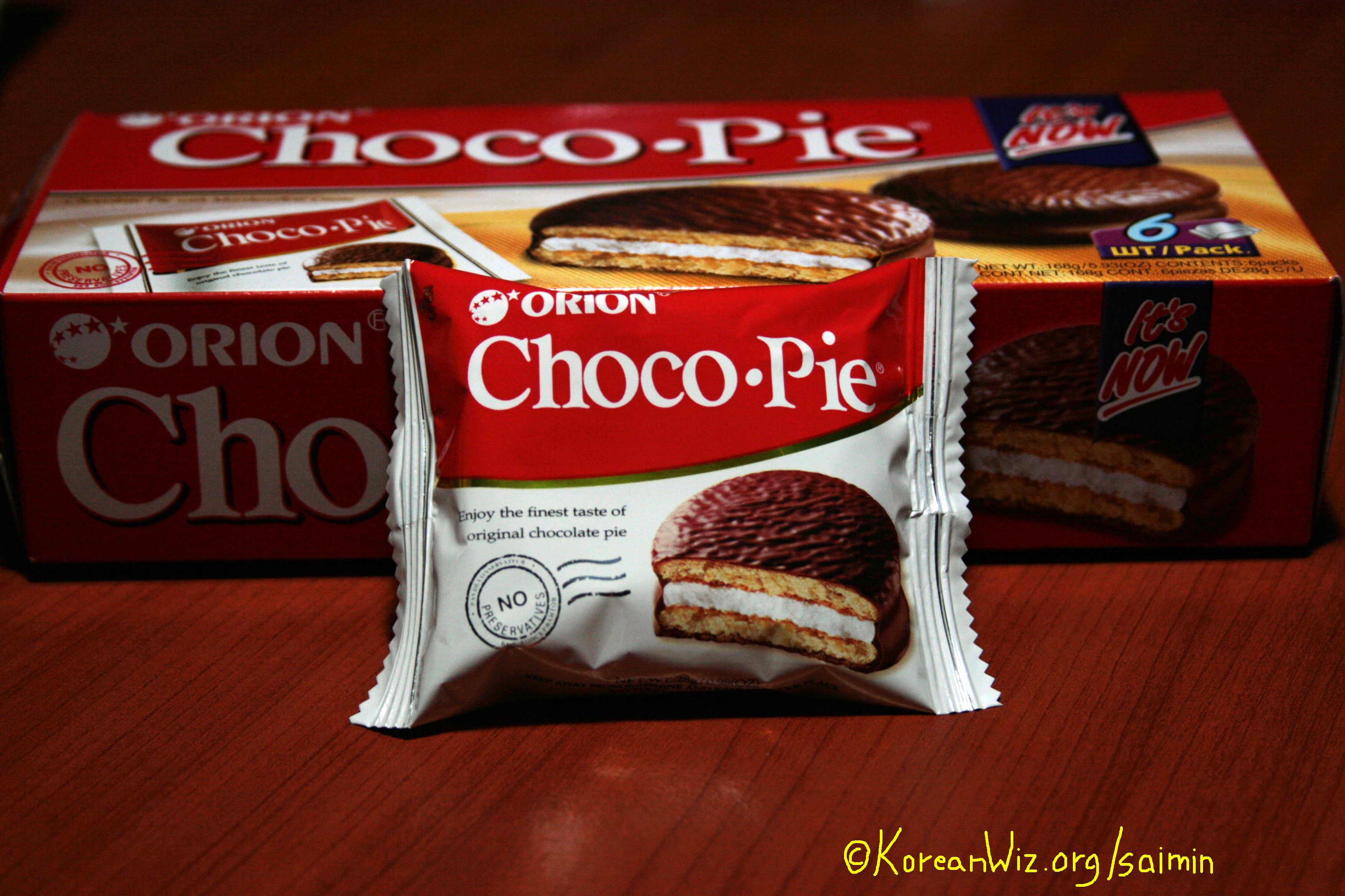 Orion S Choco Pies Exceeded 100 Billion Won In Global Sales In Q1 Businesskorea