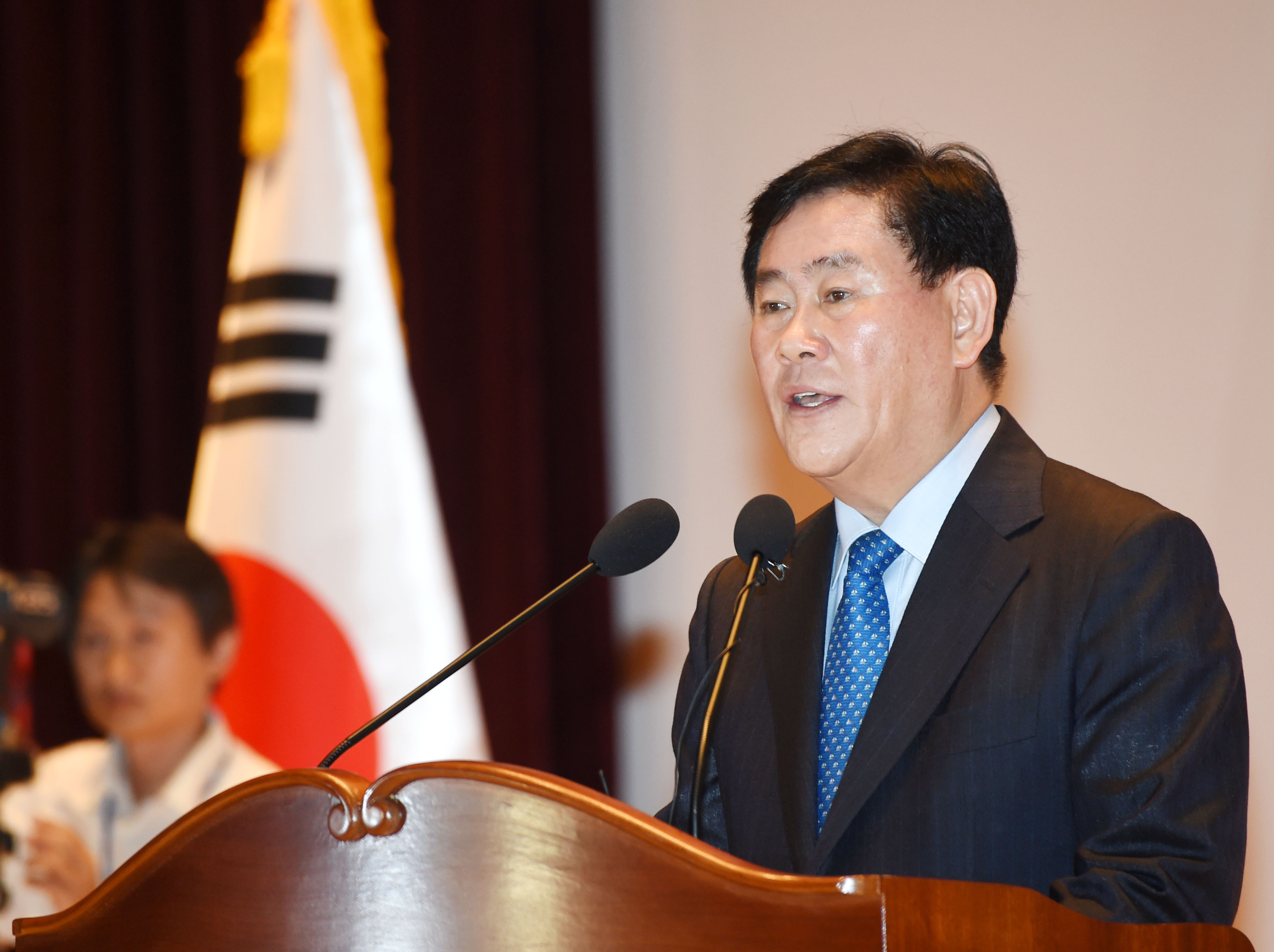 Deputy Prime Minister and Minister of Strategy and Finance Choi Kyung-hwan.