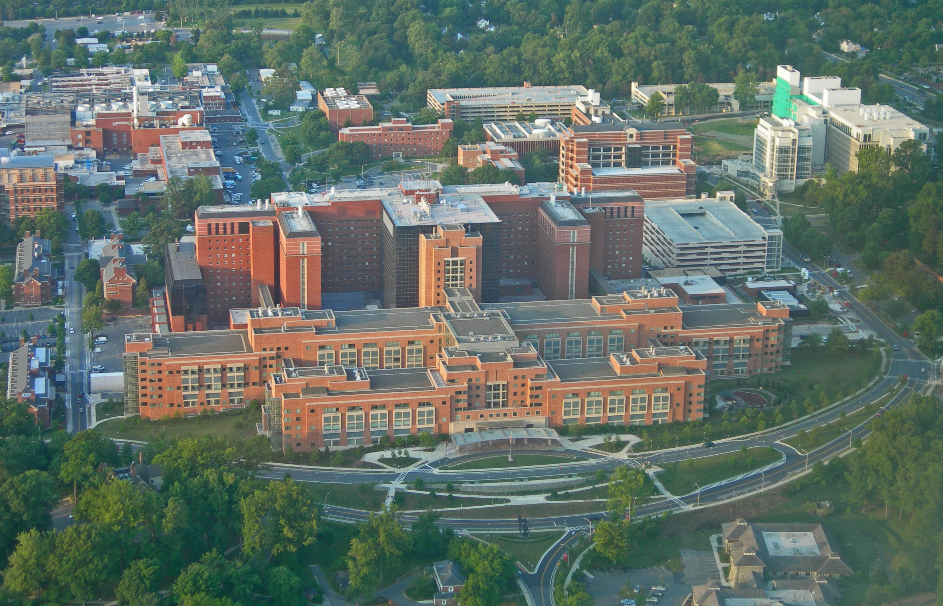 The National Institute of Health Clinical Center in Maryland is more than three million square feet.