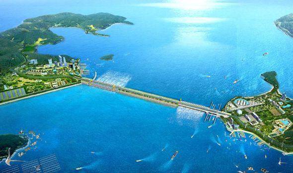 1 8 trillion won garolim tidal power project on verge of suspension