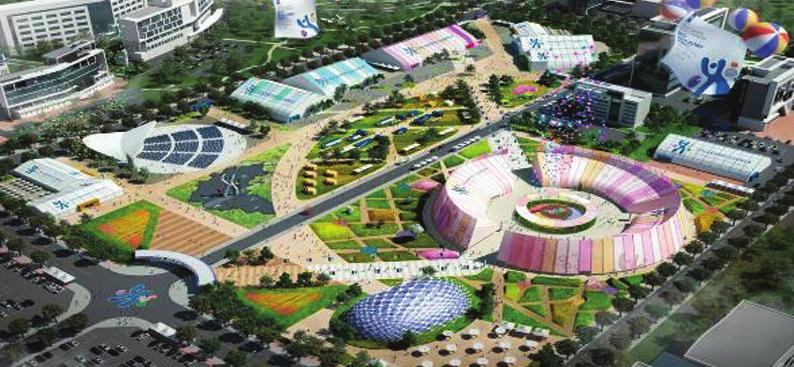 Osong Biovalley is the place where Osong International Bio Industry Exposition is to be held.