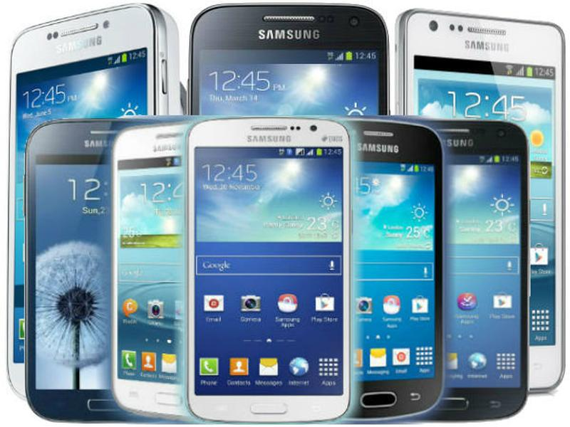 The Samsung Galaxy family of phones.