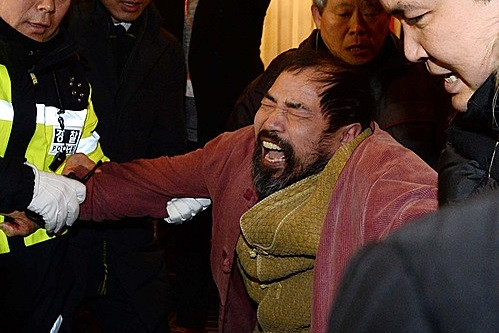 "Just after Kim Ki-jong attacked U.S. ambassador to South Korea Mark Lippert, he screams, ""I have committed a terrorist act today to prevent a war, targeting the annual Key Resolve-Foal Eagle military exercises between South Korea and the U.S."""
