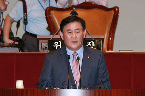 Choi Kyung-hwan, deputy prime minister and minister of strategy and finance.