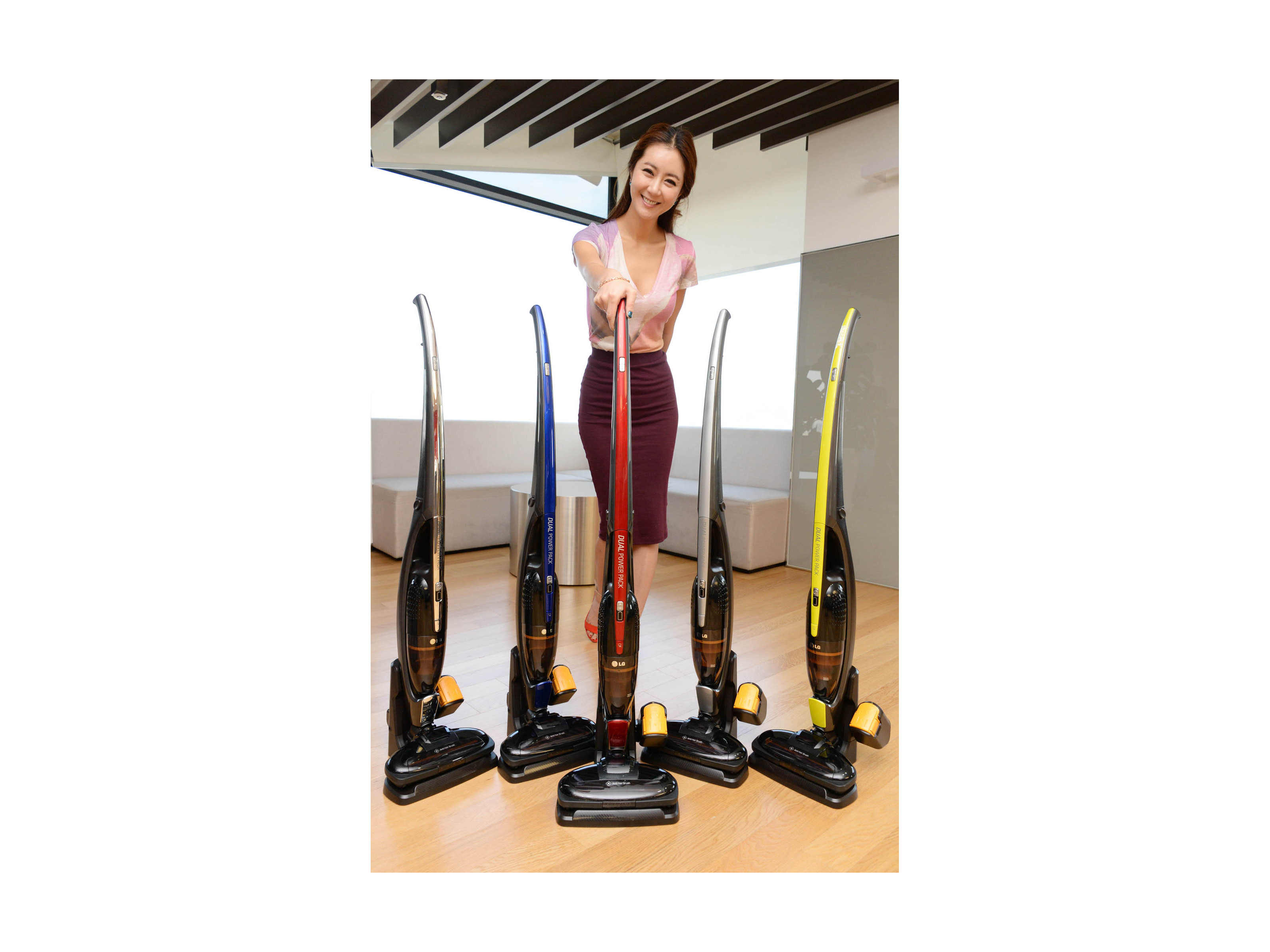 LG Electronics' Cord Zero Handy Stick wireless vacuum cleaner released in September last year.