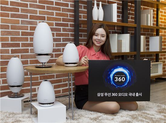 "Samsung Electronics launched ""Wireless 360 Audio,"" an omni-directional audio system, in the domestic market."