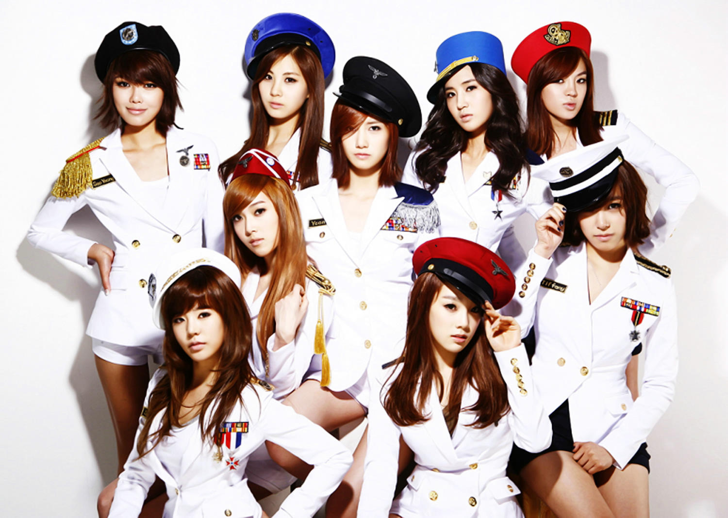 The members of Girls' Generation are early harbingers of the Korean Wave in many different markets.