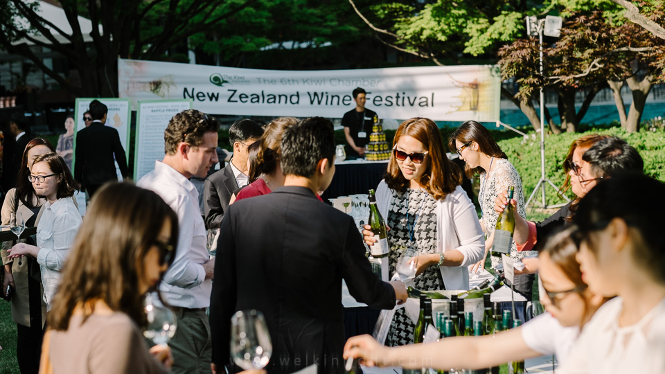 A photo from last year's New Zealand Wine Festival.