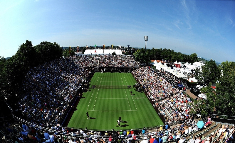 The MercedesCup.
