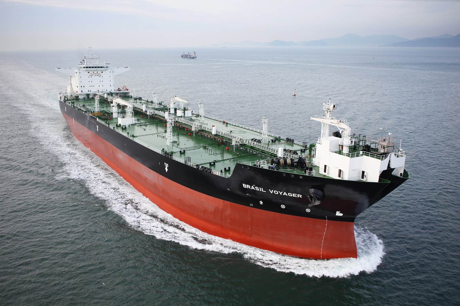 A 150,000-ton shuttle tanker built by Samsung Heavy Industries.