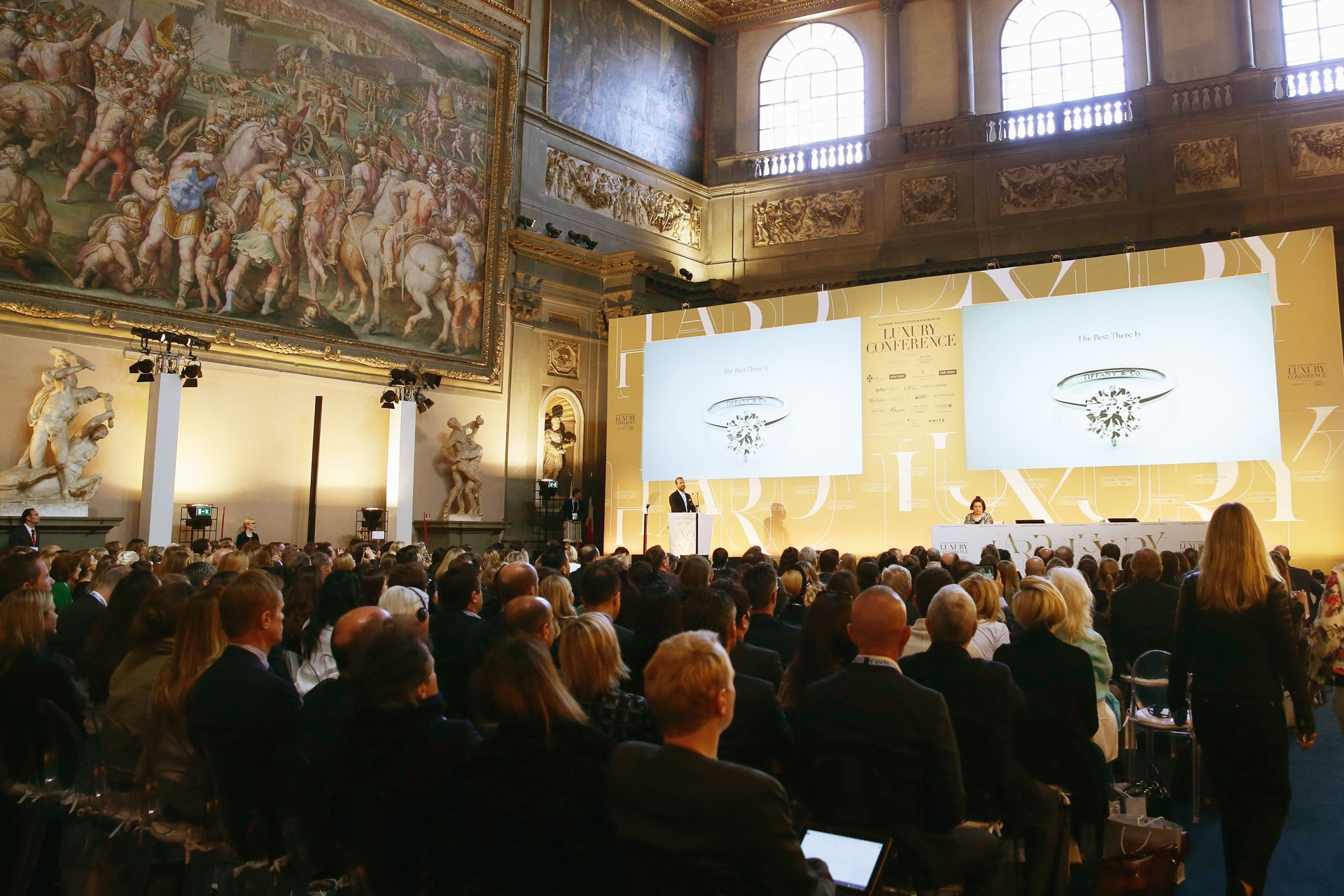 The first Condé Nast International Luxury Conference was held this year in Florence, Italy.