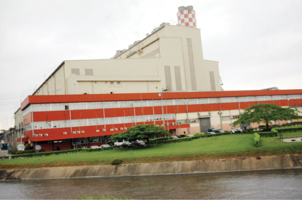 Egbin Thermal Power Plant in Lagos, Nigeria.