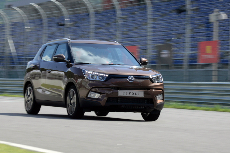 The Ssangyong Tivoli.