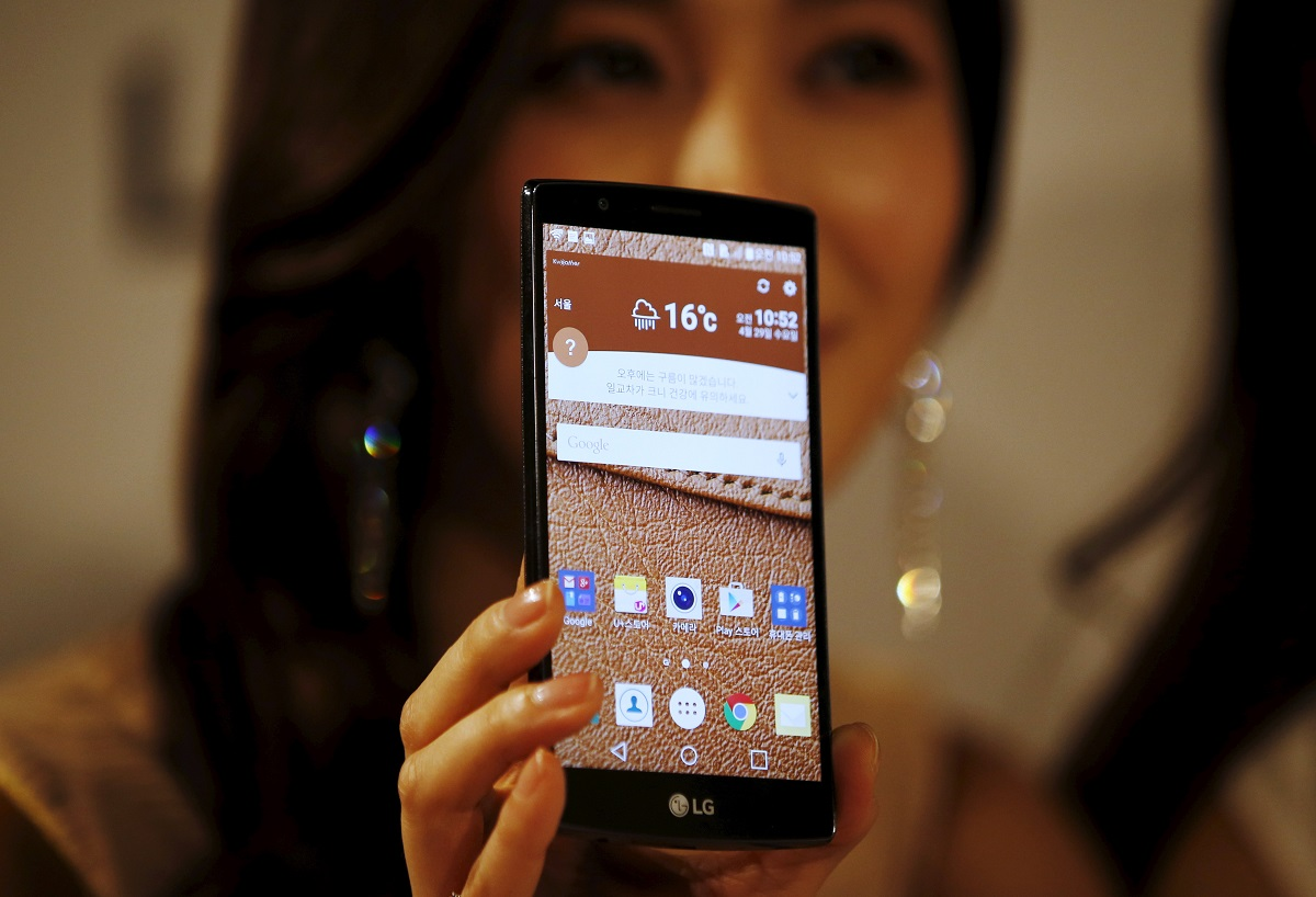 LG Electronics' G4 smartphone is one close cooperative project between the two companies.