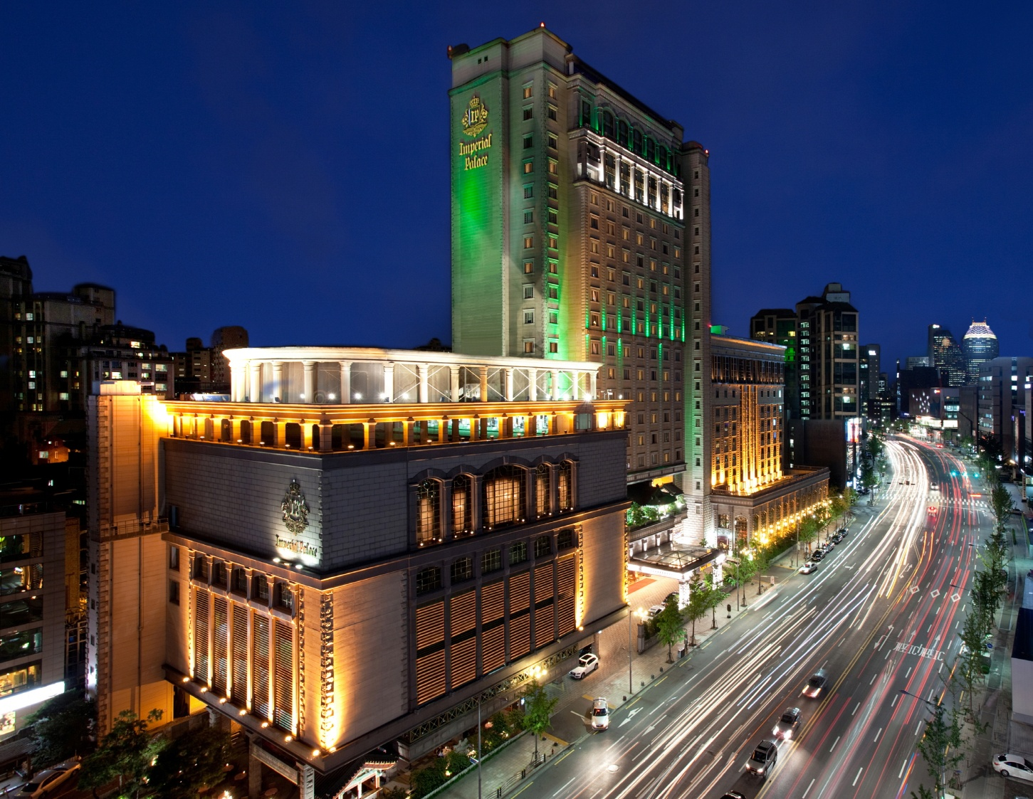 The Imperial Palace Seoul hotel.