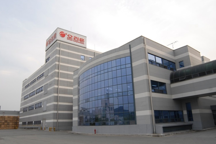 A photo of Orion's Cheongju plant.