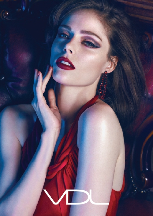 Canadian fashion and beauty model Coco Rocha in the new VDL ad.