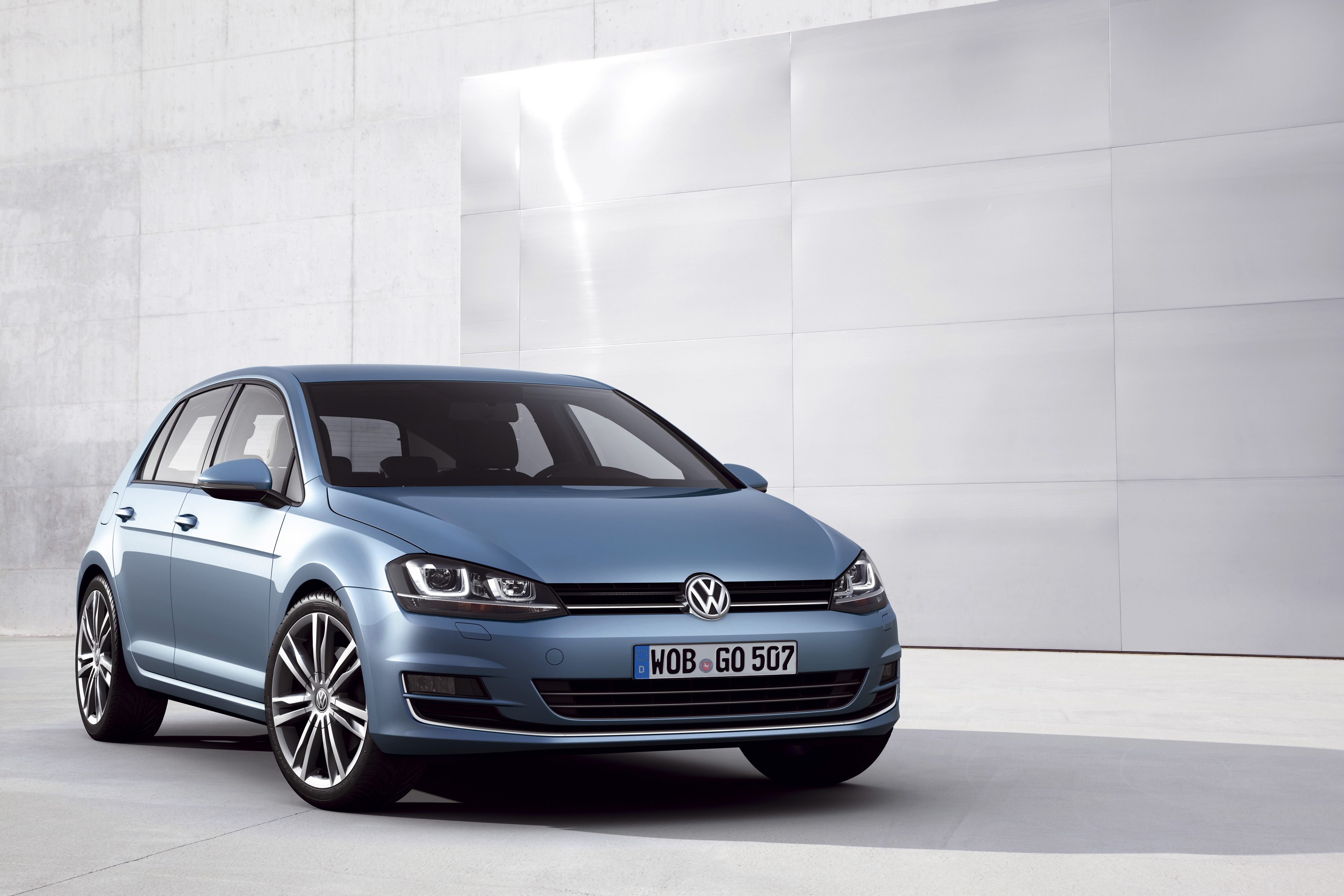 The Volkswagen Golf 7.