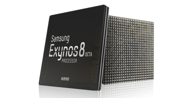 Exynos 8 Octa 8890 mobile system-on-chip (SoC).