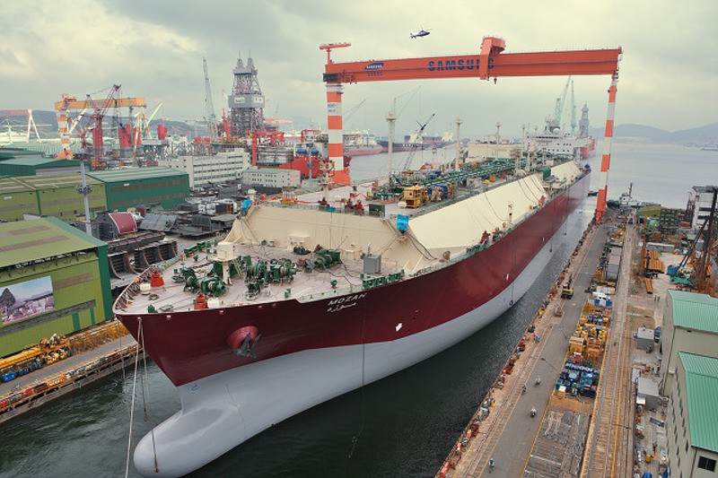 Korea's shipbuilders are struggling to stay afloat