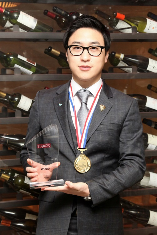 SPC Group Sommelier Ahn Jung-min.