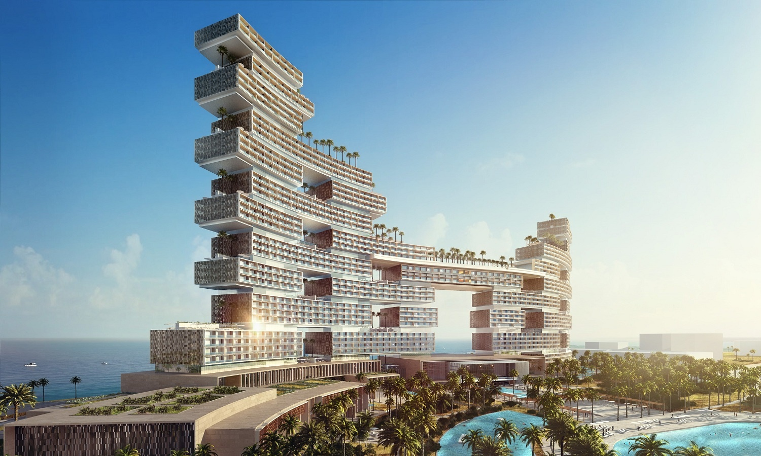 An artist's rendering of the Royal Atlantis Resort and Residences.
