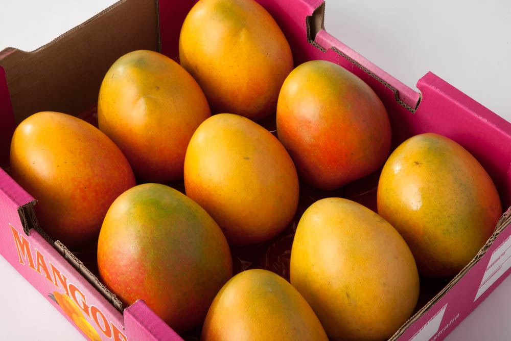 Mangoes are low in fat and a rich source of Vitamin A, Vitamin C and Beta-carotene. Their long shelf life also makes them a perfect holiday gift.