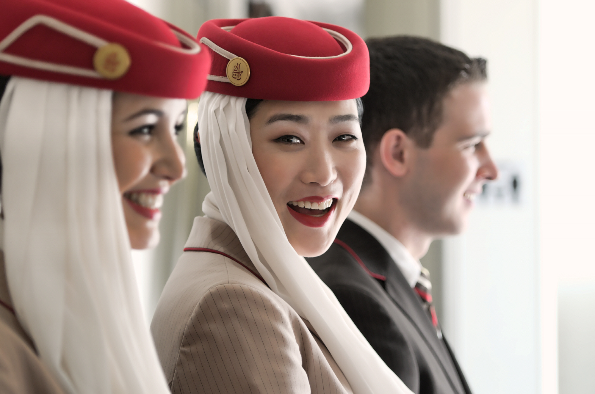 Emirates Cabin Crew and Flight attendants