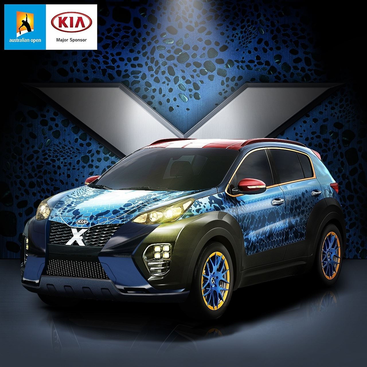 The Kia X Car Mystique.