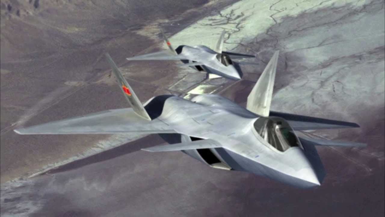 An artist's depiction of the KF-X fighter when it is completed.