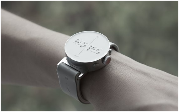 A Korean start-up will unveil the world's first braille smartwatch at the MWC 2016.