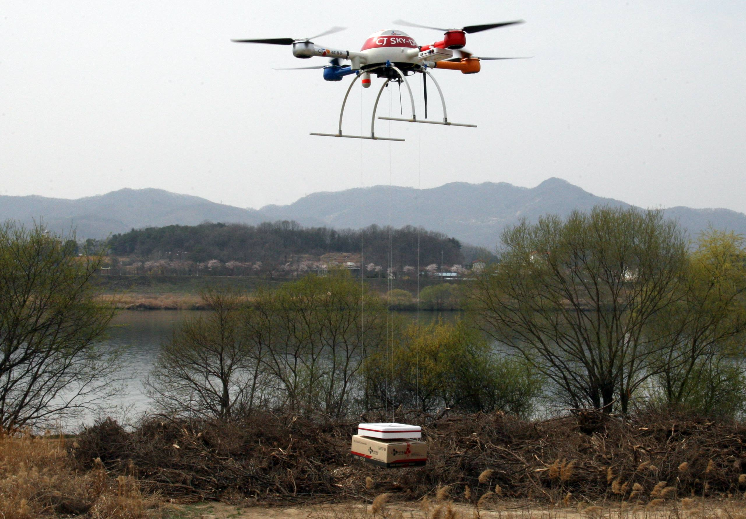 CJ Korea Express Claims to Develop World's First New Drone