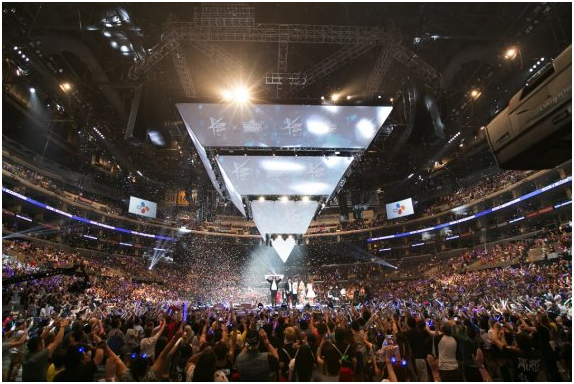 M-Countdown Concert during KCON 2015 USA in LA.