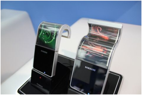 Samsung Display is representing approximately 95% of the global mobile OLED panel market.