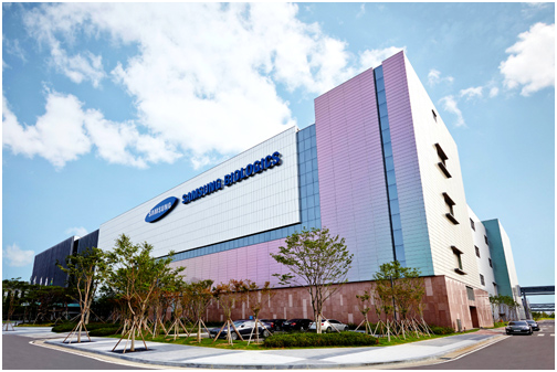 The 2nd plant of Samsung Biologics in Songdo free economic zone of Incheon, Korea.