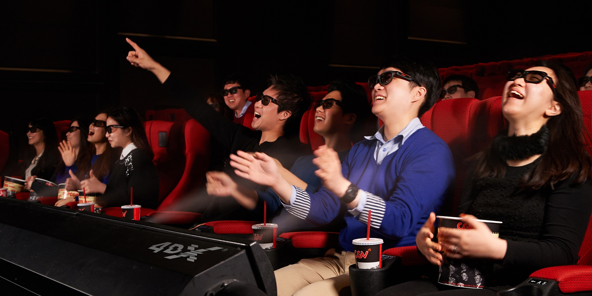 CJ 4DPLEX opens a second 4DX theater at the Regal E-Walk 13 in Manhattan, New York, on May 5.
