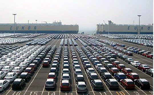 All the five llocal auto manufacturers recorded a negative growth in exports without exception in April.