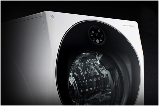 The LG Signature Washer.