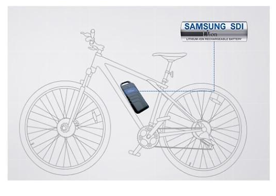 Samsung SDI is maintaining the number one spot in the e-bike lithium battery market with its small but long lasting battery technology.